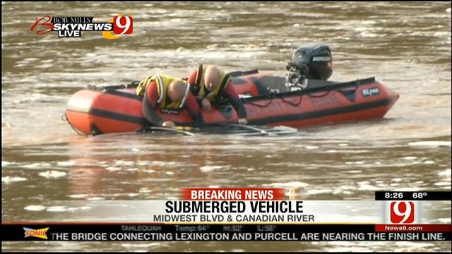 'All Clear' Given, No People Found Inside Vehicle In Canadian River