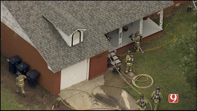 Crews Respond To House Fire In NE OKC