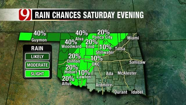 Chance For Showers, Thunderstorms Father's Day Weekend