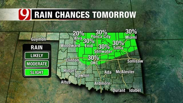 Chance For Thunderstorms Through Sunday Afternoon