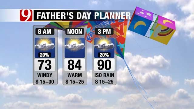 Low Threat For Large Hail, Damaging Winds In Northern Oklahoma Sunday