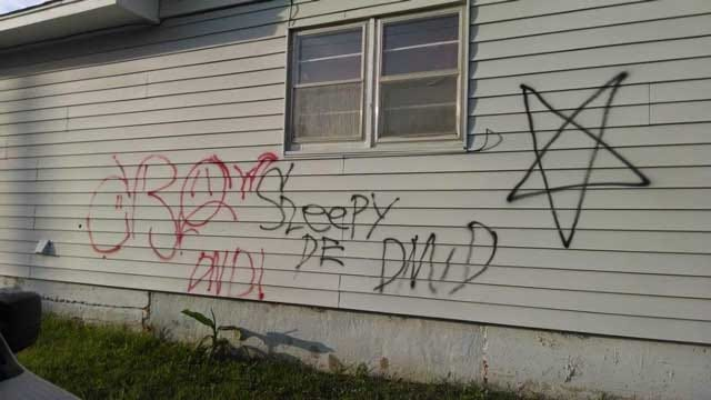 Chickasha Police Investigate Spray-Paint Incidents