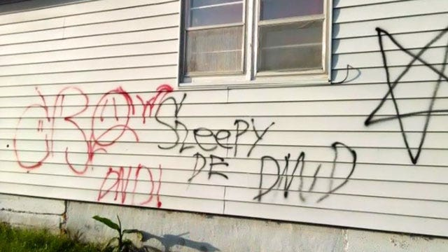 Chickasha Police Looking For Graffiti Vandals