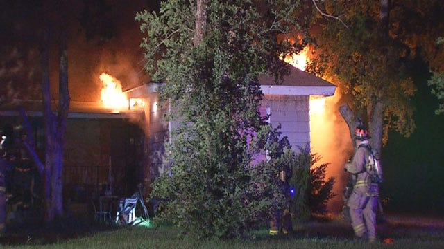 Investigation Underway Into Cause Of SE OKC House Fire
