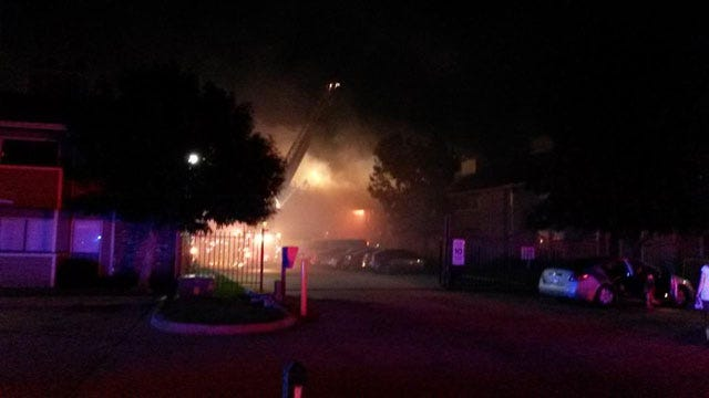 Two Injured In NW OKC Apartment Fire