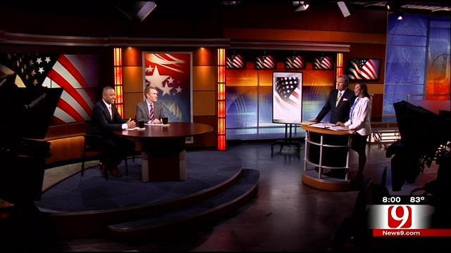 U.S. Senate Debate Between James Lankford And T.W. Shannon