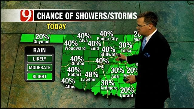 Some Thunderstorms May Be Severe On Thursday In Oklahoma