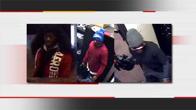 Authorities Seek Three Suspects In OKC Bank Robbery