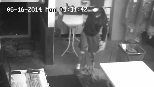 OKC Police Seek Suspect In Scott Cleaners Burglary