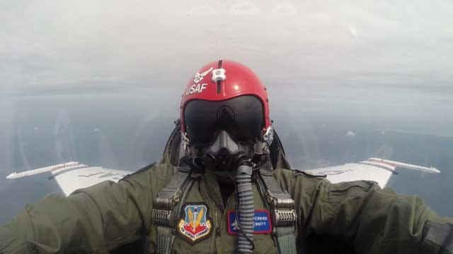 Thunderbirds Headline Air Show At Tinker Air Force Base