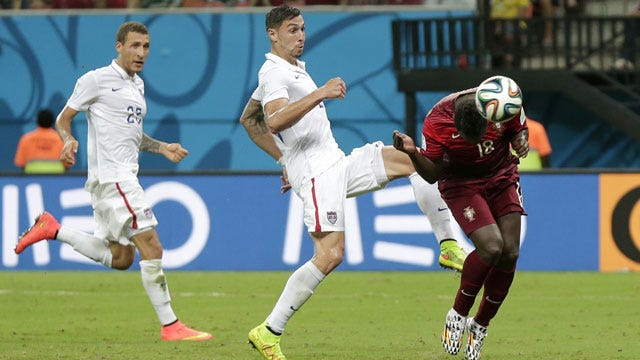 Portugal Scores Late To Force Draw With U.S. In World Cup