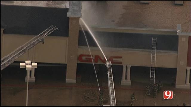 Crews Respond To Commercial Fire In NW OKC