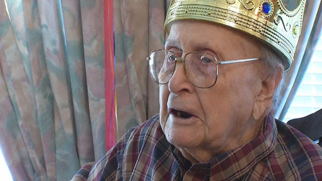 Oklahoma World War II Veteran Celebrates 100th Birthday