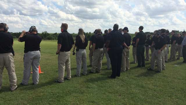 Future OSBI Agents Participate In ATF Explosive, Forensic Training