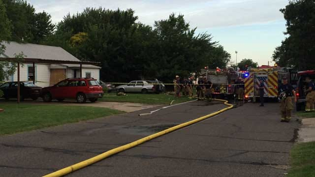 Homicide Suspected After Bodies Found In Burned Out MWC Home