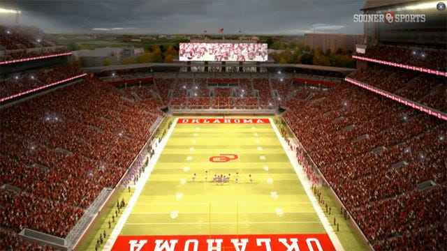 Stadium Upgrades Approved By OU Board Of Regents