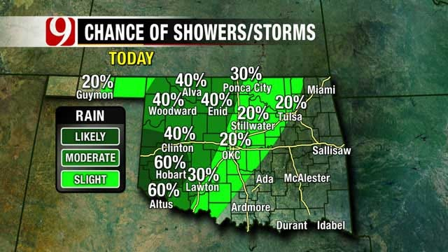 Severe Weather Possible In Oklahoma This Weekend