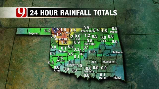 Chances Of Rain Low For Most Of Oklahoma