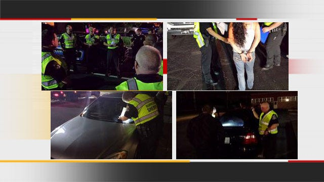 24 Arrested During DUI Crackdown In Oklahoma City
