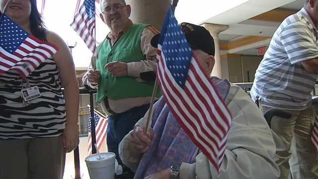 Nine Norman VA Center Veterans Head To D.C. On Honor Flight