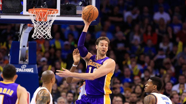 Free Agent Gasol To Visit Thunder