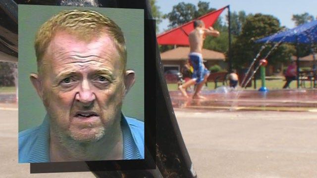 OKC Man Arrested For Lewd Acts At Kids' Splash Park