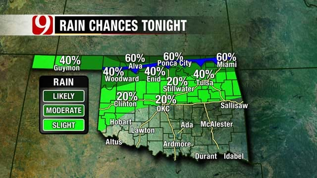 Severe Storms Possible Monday Afternoon In Oklahoma
