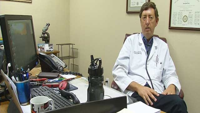 Edmond Doctor, 59, Joins The National Guard