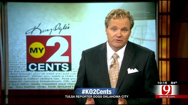 My 2 Cents: Tulsa World Reporter Slams OKC