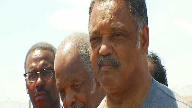 Rev. Jesse Jackson Joins Push For Storm Shelters In Schools