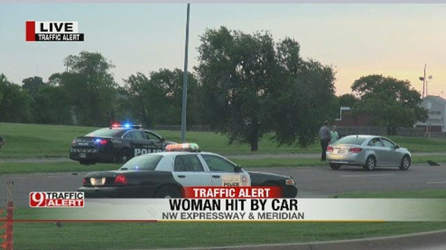 Woman Hit By Car On Northwest Expressway
