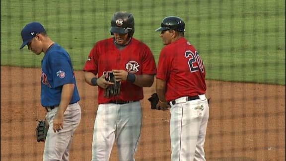 RedHawks Lose Lead Late Against Omaha