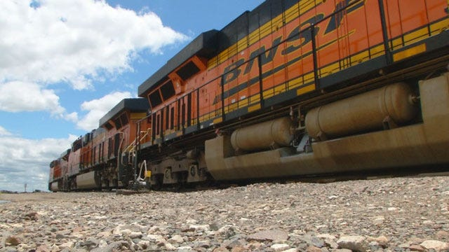 Oklahoma City Police Promote Train Awareness And Safety