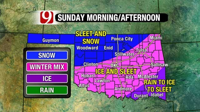 Another Winter Storm Arrives, Slick Road Conditions Sunday