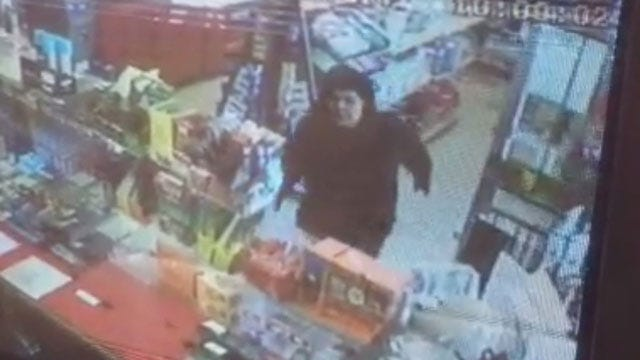 Arrest Warrant Issued For Suspect In OKC Convenience Store Robbery