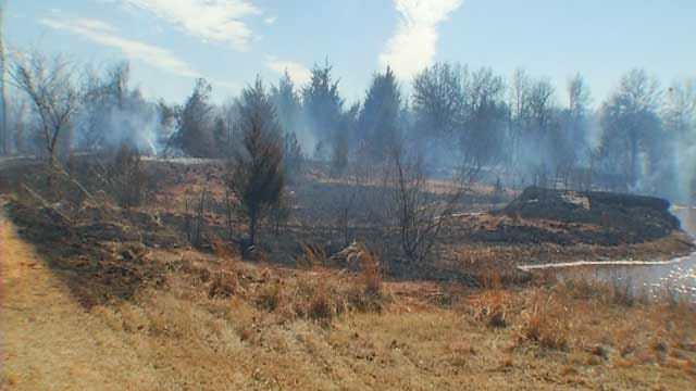 Bethel Acres Wildfire Takes Similar Path As May 2013 Tornado