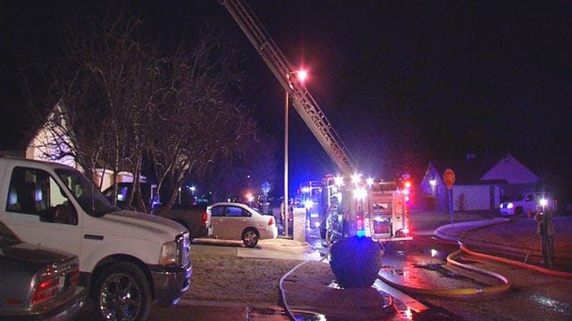 Officials: NW OKC Grass Fire May Have Been Intentionally Set