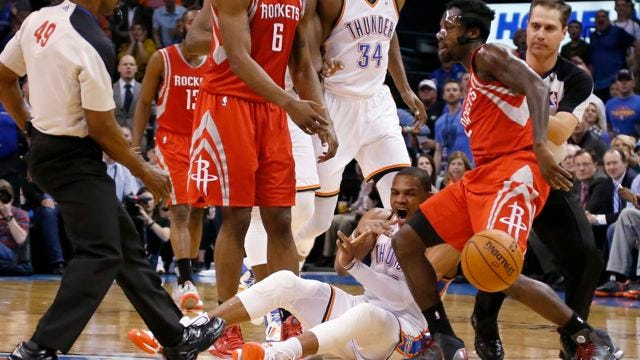 Thunder KOs Rockets After Six-Round Bout