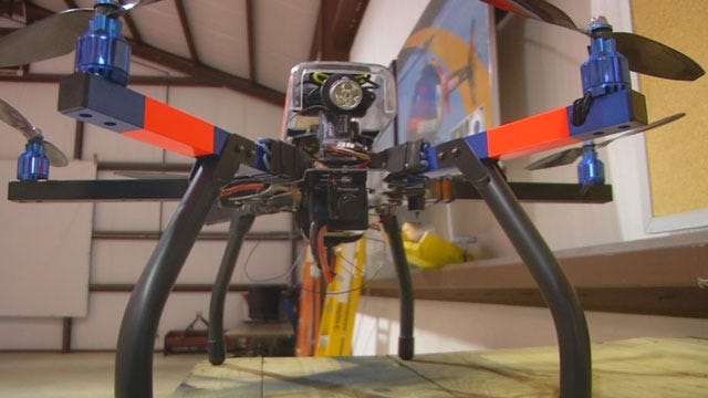 Firefighters Push To Use Drones For Public Safety