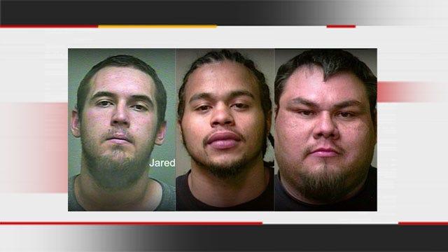 OK Deputies Arrest 3 Men Accused Of Stealing Dozens Of Guns