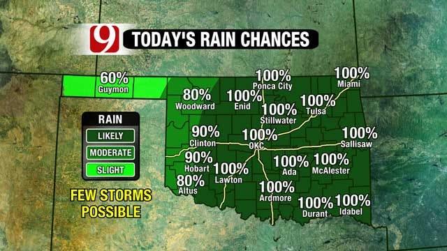 Rain Falls Statewide, Warm Weather Returns For Spring Break