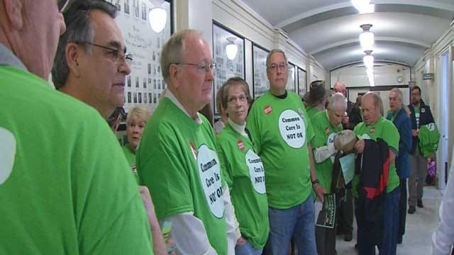 Hundreds Protest Common Core Repeal At Capitol