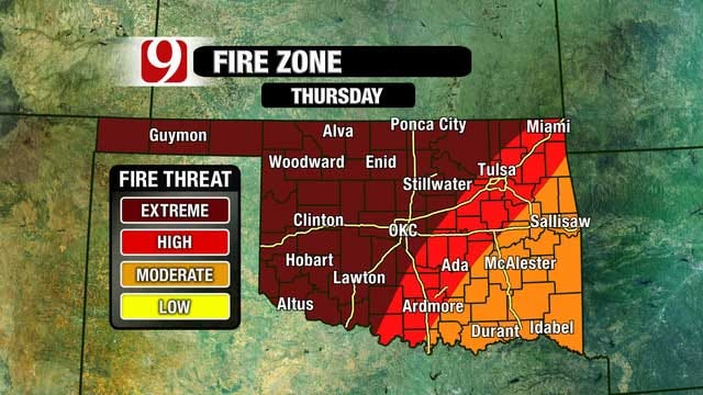 High Winds Bring Wildfire Risk At Start Of Spring