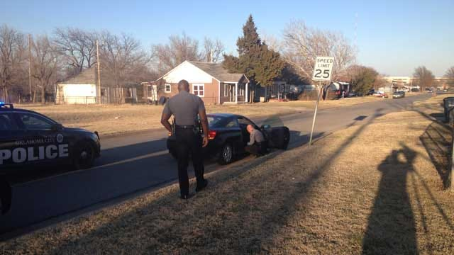 Two Arrested After Short Chase In NW OKC