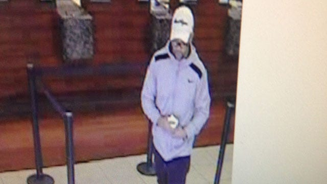 Another Bank Robbery Reported In Norman