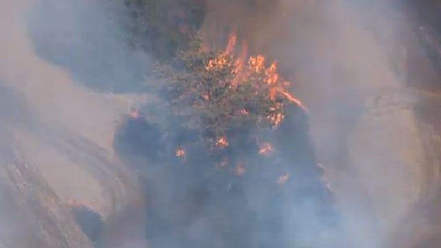 Crews Battle Grass Fire Near Chandler