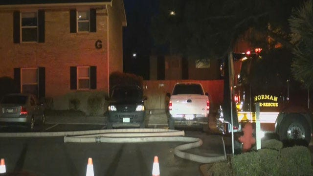 Firefighters Put Out Norman Apartment Fire