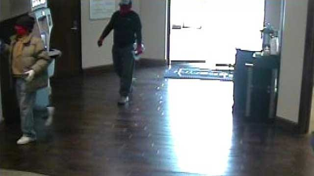 FBI Seeks Men Who Robbed NW OKC Bank At Gunpoint