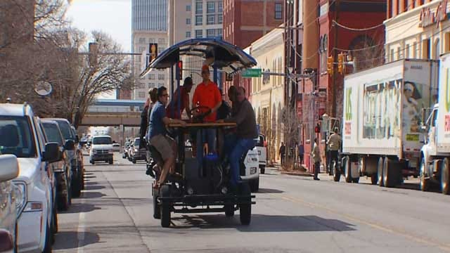 Bricktown Bike Bar Opens For 2nd Season