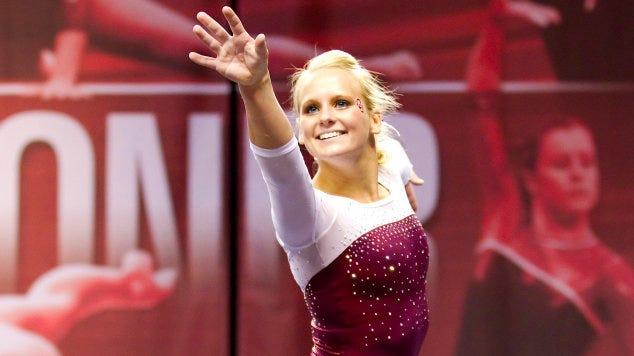 OU Women's Gymnastics Captures Big 12 Title